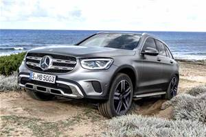 Mercedes-Benz GLC facelift India launch on December 3, 2019
