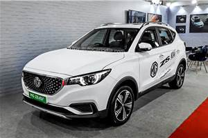 Production-spec MG ZS EV showcased at NuGen Mobility Summit