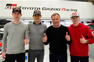 Toyota signs Ogier as part of all-new 2020 WRC line-up