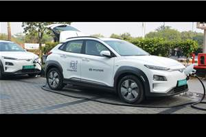 Hyundai introduces Vehicle to Vehicle charging facility
