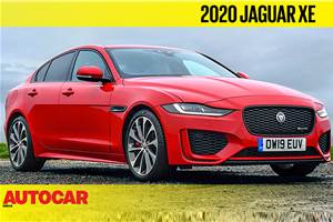 Jaguar XE facelift video review