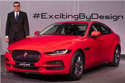 Jaguar XE facelift launched at Rs 44.98 lakh