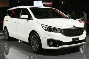 India-bound Kia Carnival to get three seating configurations