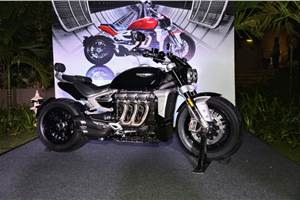 2020 Triumph Rocket 3 launched at Rs 18 lakh
