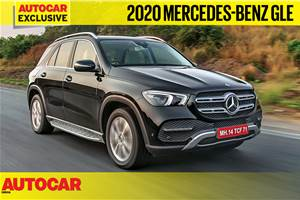 New Mercedes-Benz GLE video review