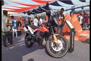 KTM 790 Adventure showcased at India Bike Week 2019