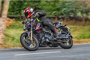 2020 BS6 TVS Apache RTR 200 4V review, test ride