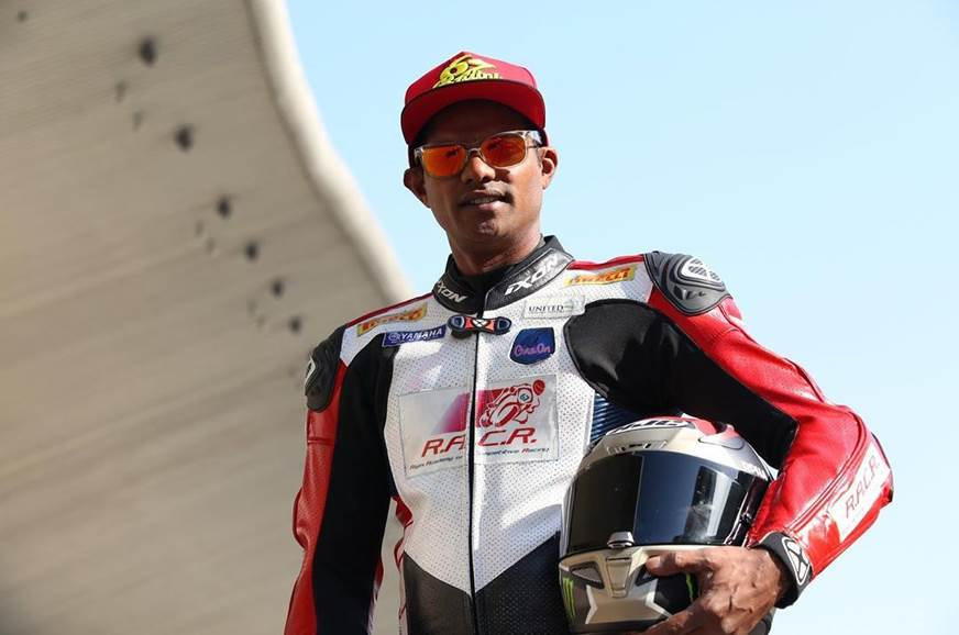 Rajini Krishnan qualifies for Round 2 of the FIM Enduranc...
