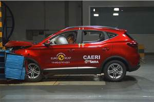 MG ZS EV secures 5-star Euro NCAP rating