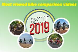 Best of 2019: Most viewed two-wheeler comparison videos