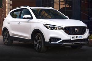 MG ZS EV bookings to open on December 21