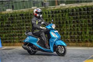 Yamaha Fascino 125 Fi: A close look