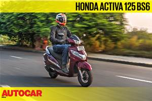 Honda Activa 125 BS6 video review