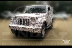 Next-gen Mahindra Thar to be feature-laden