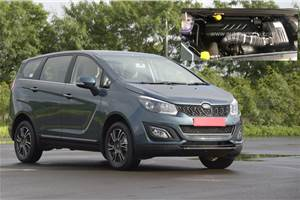 Mahindra Marazzo BS6 to see a variant re-jig