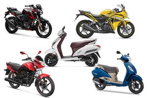Two-wheeler sales witness huge decline in December 2019