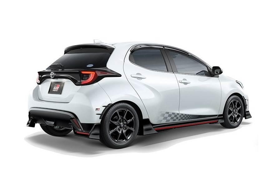 2020 Toyota Yaris hatchback with TRD kit