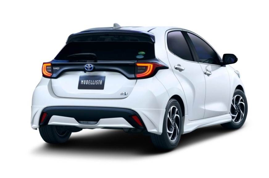 2020 Toyota Yaris hatchback with Modellista kit