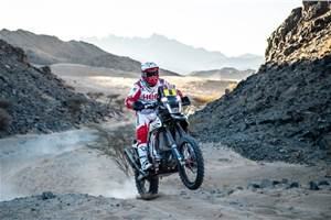 Dakar 2020: Hero and TVS in top 15 after Stage 1