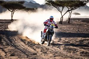 Dakar 2020, Stage 2: Hero holds on to top 15; TVS' Harith Noah makes good progress