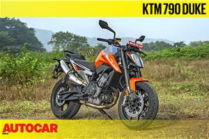 KTM 790 Duke real-world video review