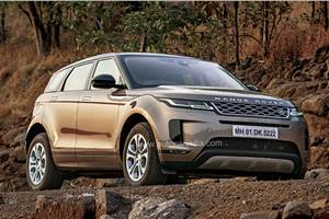 Range Rover Evoque India launch on January 30