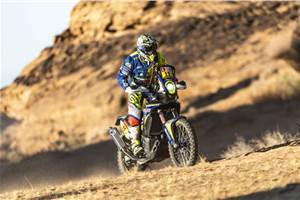 Dakar 2020, Stage 5: Adrien Metge inches closer to top 10; strong stage for CS Santosh