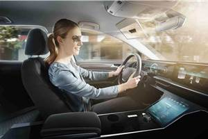 Bosch reveals Virtual Visor at CES 2020