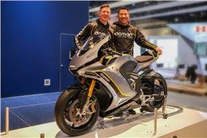 Damon Hypersport advanced electric motorcycle unveiled at CES 2020