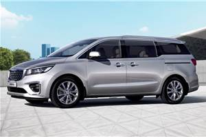 Kia Carnival to launch in three variants