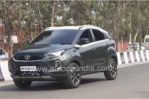 Tata Nexon facelift variant details leaked