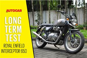 Royal Enfield Interceptor 650 long term review video