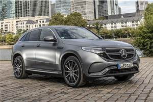 Mercedes-Benz EQC India launch in April 2020