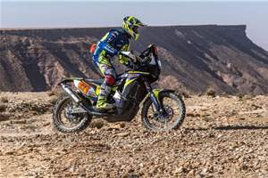 Dakar 2020: Stage 9: TVS endures a tough day