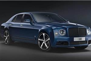 Bentley Mulsanne 6.75 Edition revealed