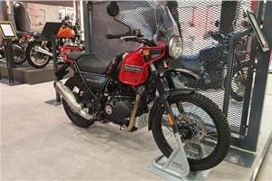 Royal Enfield Himalayan BS6 details surface