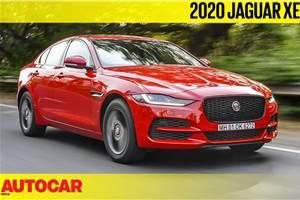 Jaguar XE facelift India video review