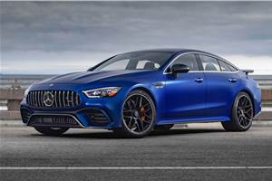 Mercedes-AMG GT 4-Door Coupé India launch at Auto Expo 2020