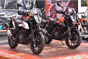 KTM 390 Adventure exports to begin in February 2020