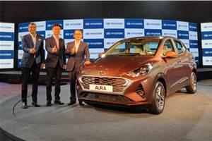 Hyundai Aura launched at Rs 5.80 lakh