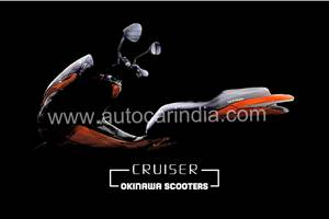 Okinawa Cruiser electric maxi-scooter teased before Auto Expo 2020 debut