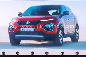 Sunroof-equipped BS6 Tata Harrier teased
