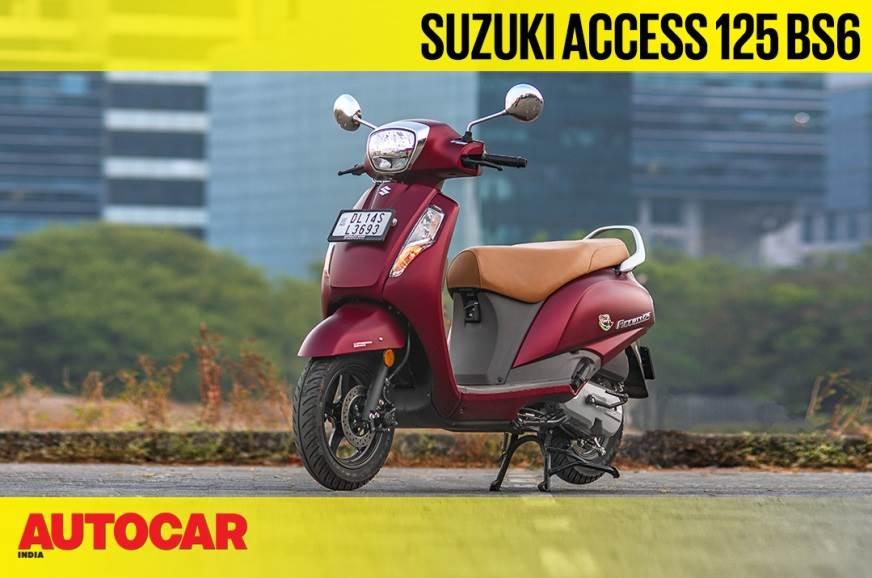 Suzuki Access 125 BS6 video review