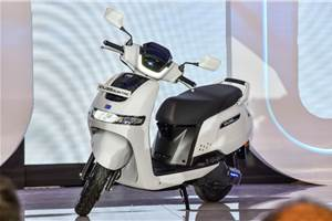 TVS iQube e-scooter launched at Rs 1.15 lakh