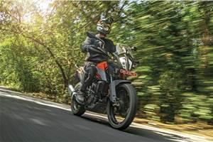 KTM 390 Adventure review, test ride