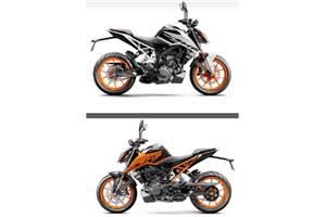BS6 KTM 200 Duke to share design with the 250 Duke