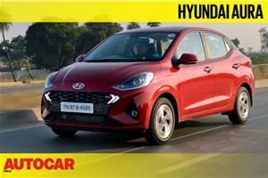 Hyundai Aura video review