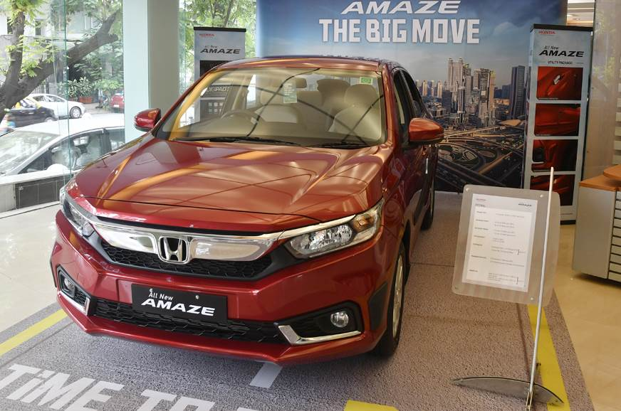 BS6 Honda Amaze launched at Rs 6.09 lakh