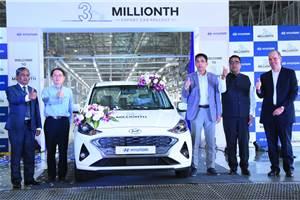 Hyundai India has produced 3 million cars for export