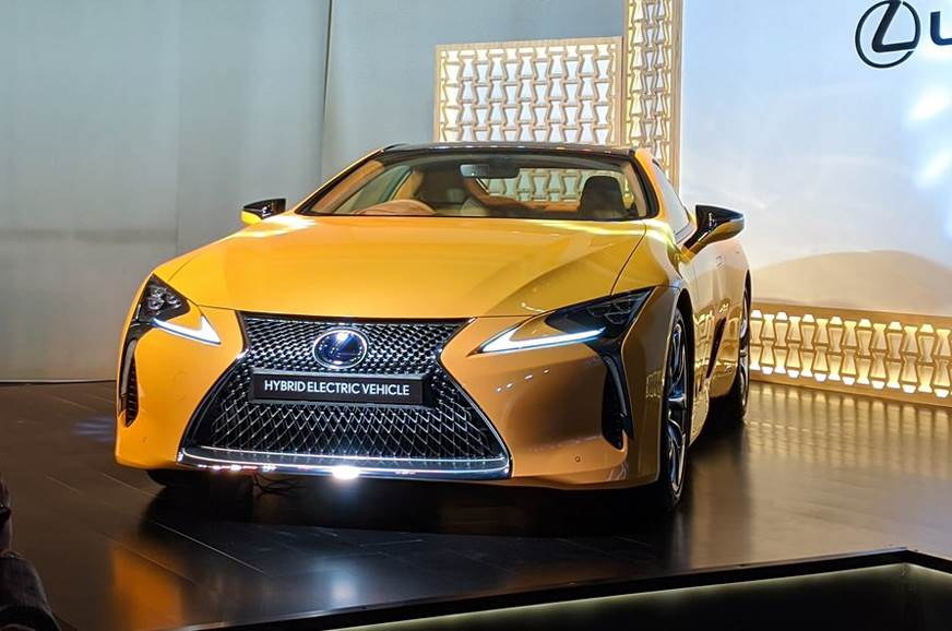 Lexus LC500h launched at Rs 1.96 crore
